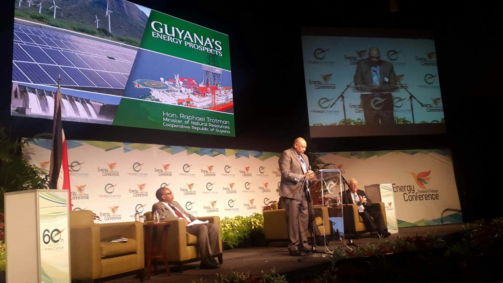Minister at T&T Energy Conference 2016